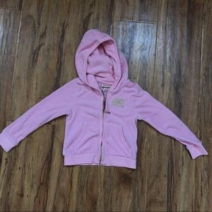 ✨Toddler Juicy Couture Pink Hoodie✨